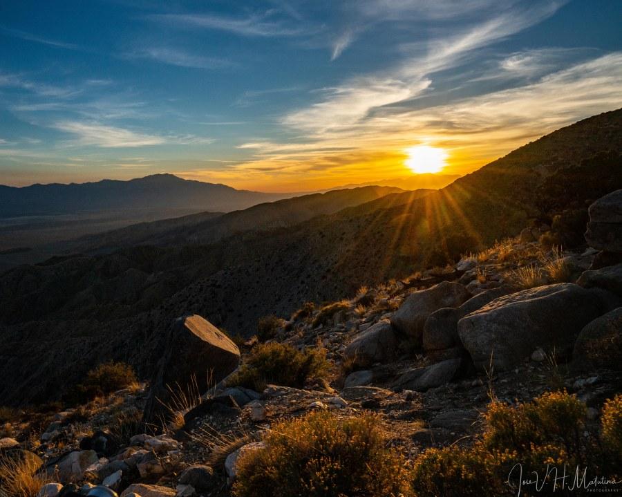 Sunset at Keys View