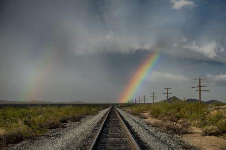 Taken on the Mojave Desert.