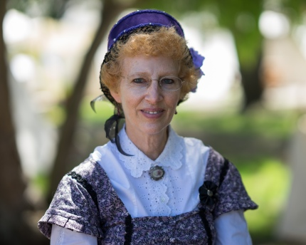 HB Civil War Days Reenactment is an event not to be missed. This lady was kind enough to have her photo taken.