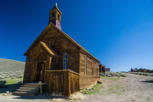 This church is what remains of the two churches in Bodie.